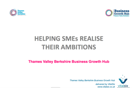 'Helping SMEs realise their ambitions' – BGH Presentation & Business Model Canvas -