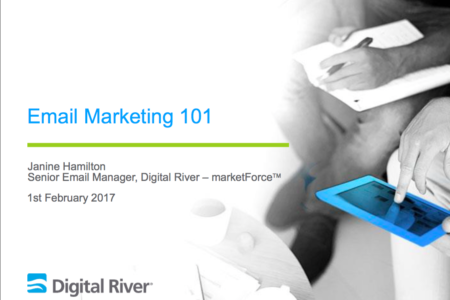 Email marketing 101 presentation
