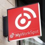 MyWorkSpot sign