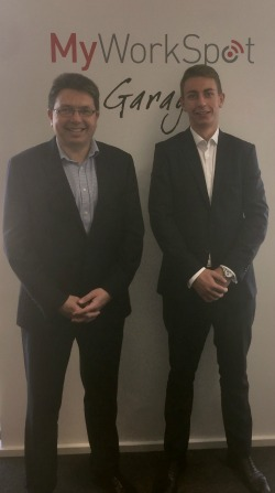 Mark Harris and Kieran Webber from PHH