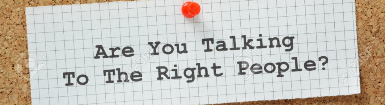 Are you talking to the right people? – Target Market Lunch & Learn -