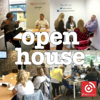 MyWorkSpot 'Open House' – Free Coworking Day + Facilitated Speed Networking -