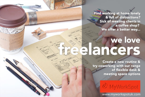 National Freelancers Day 21 June – Try coworking with us -